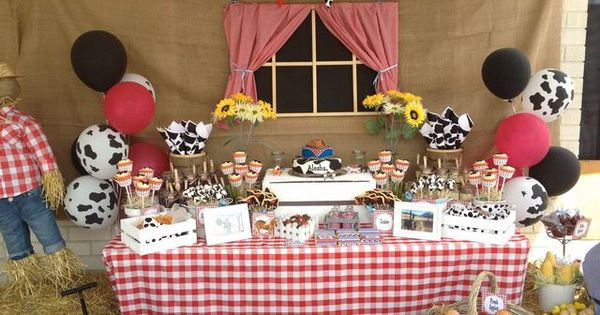 western theme Birthday Party Ideas