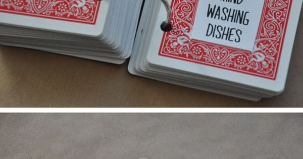52 Things I Love About you on cards! Cute cute idea! Totally