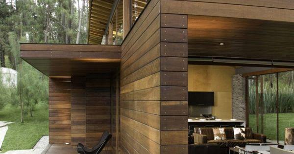 Dise o de interiores arquitectura fin de semana casa de for Disenos de casas en mexico