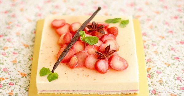 Macerated strawberries, Strawberries and Mousse on Pinterest
