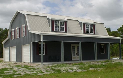 Gambrel Steel Buildings For Sale Ameribuilt Steel Structures Metal Shop Houses Metal House Plans Metal Barn Homes