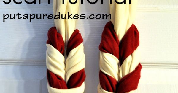 the DOUBLE braid scarf tutorial.