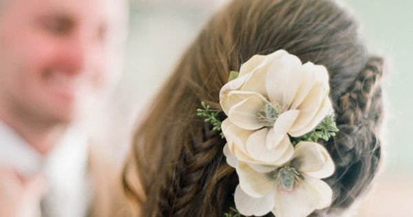 braid hairstyle for bride