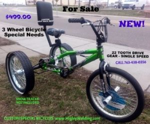 Check Out Http Trikezilla Com 3 Three Wheel Bicycle Axle