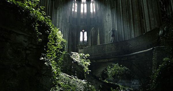 A famous spot in France, St Etienne abandoned church… a magical place