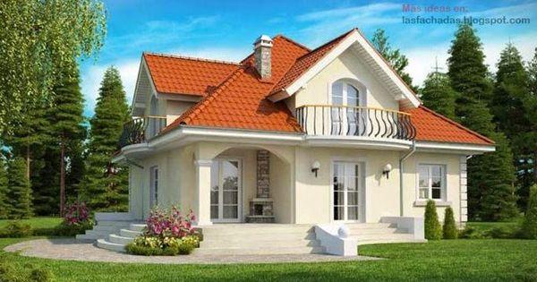 Fachadas de casas cl sicas deco casa pinterest - Fachadas de casas clasicas ...