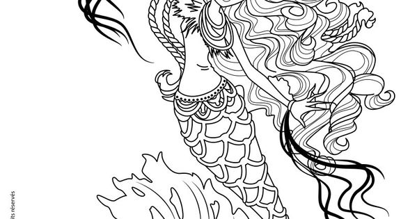 Monster High Freaky Fusion - Sirena Von Boo coloring page ...