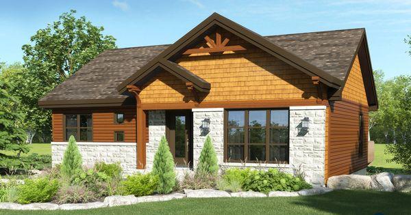 champ tre bordure de lac chalet lap0378 maison laprise maisons pr usin es mod le. Black Bedroom Furniture Sets. Home Design Ideas