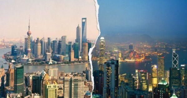 Shangkong Shanghai Vs Hong Kong A Tale Of Two Cities In China Shanghai City Hong Kong Night Conde Nast Traveler