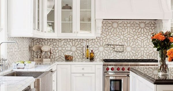 pictures of mosaic backsplash in kitchen mix and chic home tour a stunning style home in 9128