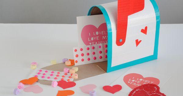 Cute DIY Valentine's Day Mailbox Idea