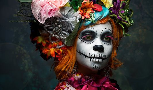 Halloween makeup 2015 - photo