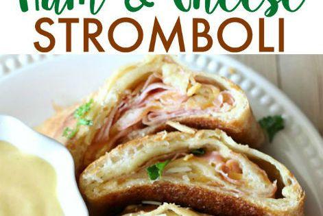 how to make ham and cheese stromboli