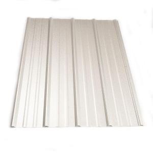Metal Sales 10 Ft Classic Rib Steel Roof Panel In Galvalume