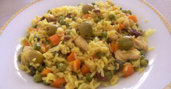 Arroz del campo es una receta para 4 personas del tipo for Cocinar 6 tipos de arroz