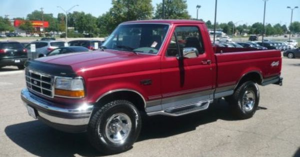 1995 Ford F150 Xlt Regular Cab 4x4 Data Info And Specs Ford F150 Ford F150 Xlt 1995 Ford F150