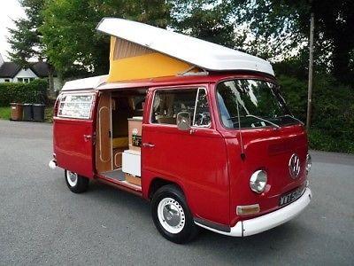 Ebay Volkswagen T2 Bay Westfalia Camper Van 1971 Vwcamper Vwbus Vw Vw Volkswagen Vw Camper For Sale Volkswagen