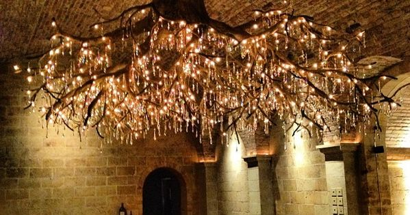 UPSIDE DOWN TREE LIGHT Something we can imitate but not own -