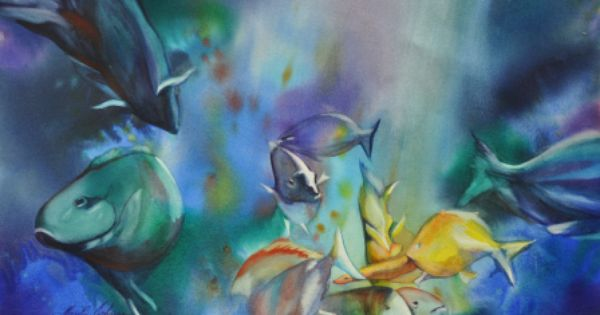 South Florida Watercolor Artist Watercolor Artist Watercolor