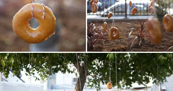 Kids' Party Game: Donut tree
