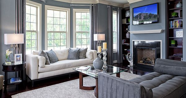 Patuxent Model Living Room At Potomac Overlook National