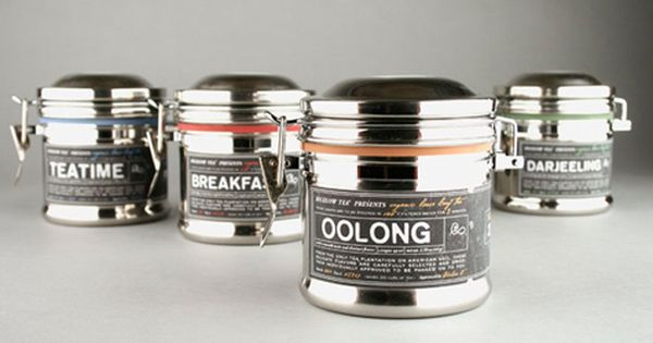 Elegant tea packaging concept by Kristen Haff. It had me at color-coded