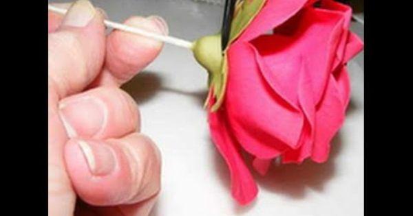 Мастичные розы мастер класс