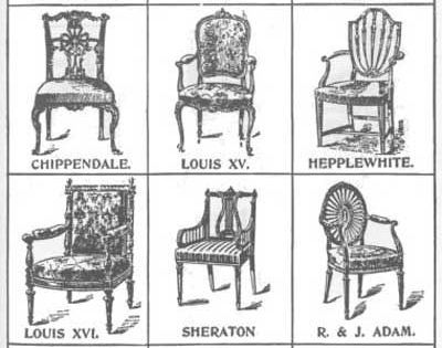 Dating furniture styles