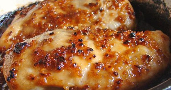☆.•♥•Cheesy Garlic Baked Chicken Recipe!.•♥•☆ 4 boneless skinless chicken breasts -thin 4