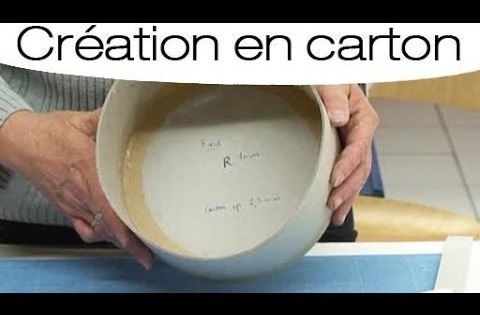 fabriquer une boite ronde en carton mode d 39 emploi youtube cartonnage pinterest comment. Black Bedroom Furniture Sets. Home Design Ideas