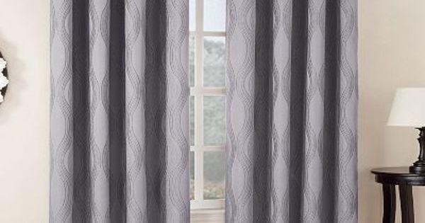 Home ClassicsR Mercury Jacquard Blackout Window Panel