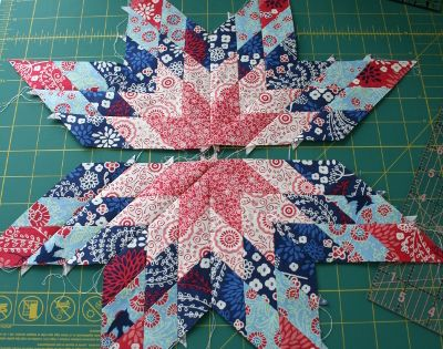 I've always wanted to learn how to make star quilts, and this
