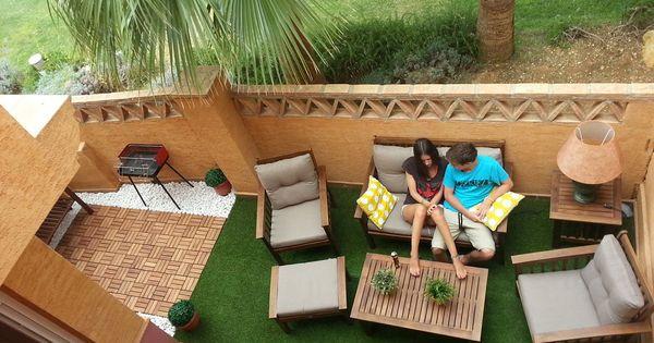 Decorar la terraza el porche el patio patios for Decorar porche casa