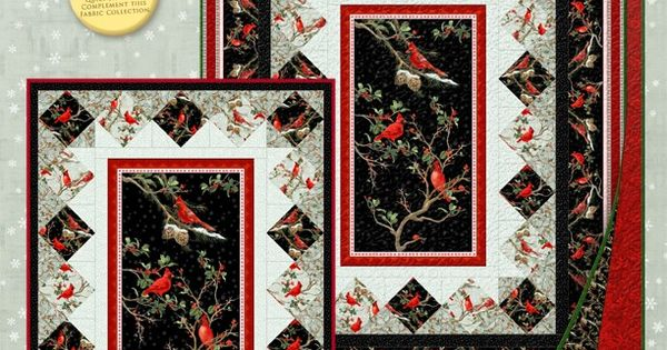 The Cardinal Rule Free Pattern Panel Quilts Pinterest