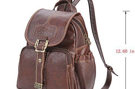 Yaoko Women Fashion Retro College Wind School Bag Outdoor Travel Hiking Dayback Backpack School Bags Bags Womens Fashion