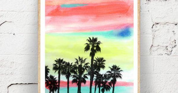 Society6 ポスター ウォールステッカー カリフォルニア インテリア