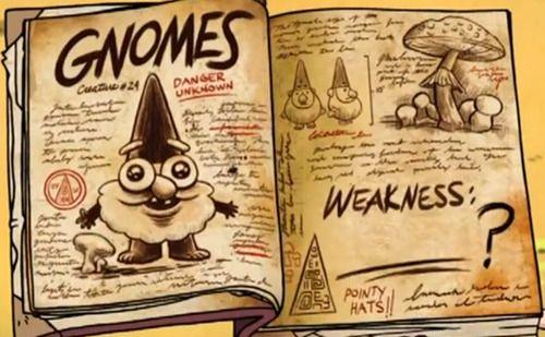 Dibujos De Los Diarios De Gravity Falls