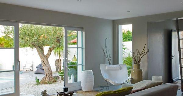 Un Salon Zen / A Zen Livingroom : Http://Www.Maison-Deco.Com/Salon