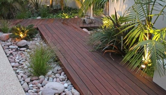 tolle kombination aus kleinen und gro en steinen und. Black Bedroom Furniture Sets. Home Design Ideas