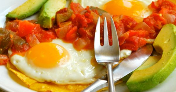 "Huevos Rancheros... my favorite breakfast/brunch from ""A Sweet Pea Chef"""