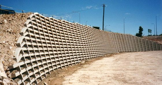 Retaining Solutions Precast Concrete Crib Retaining Walls Retaining Wall Stone Walls Garden Precast Concrete