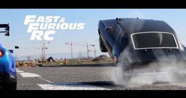 Fast Furious Rc An Epic Fast Furious Car Chase Scene Made