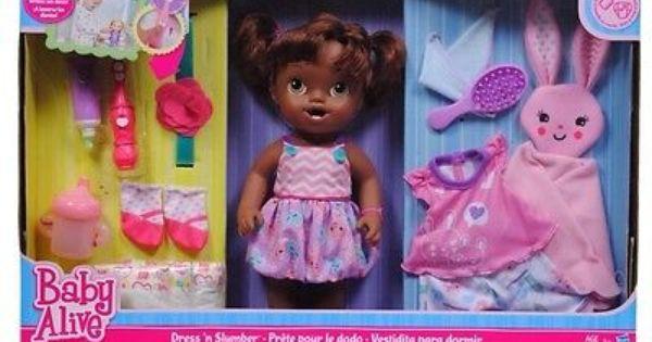 Baby Alive Dress N Slumber Baby Alive Pinterest