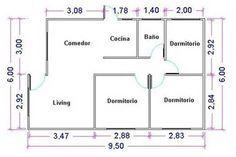 Planos De Casas Pequenas Con 2 Habitaciones Con Medidas Buscar Con Google Planos De Casas Prefabricadas Planos De Casas Planos De Casas De Madera