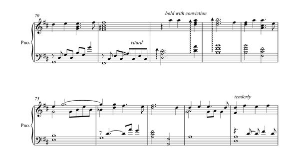 still my soul be still piano sheet music pdf