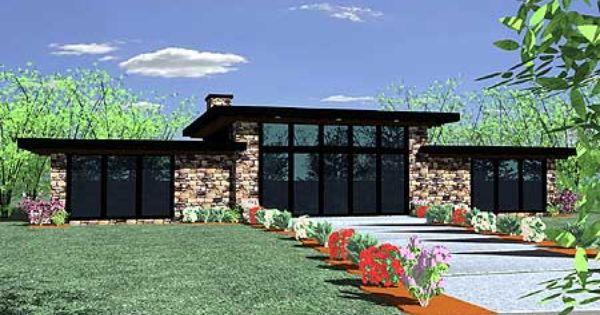Plan 85021ms contemporary getaway home plan contemporary house plans house and architecture - Modern prairie home designs ...