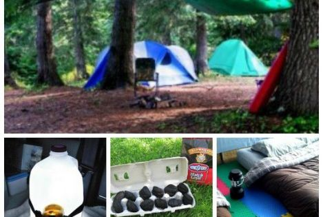 15 Genius Camping Tricks within 101 Camping Tips and Ideas