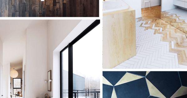 tendance d co le mix and match de mat riaux au sol carrelage carreaux de ciment les. Black Bedroom Furniture Sets. Home Design Ideas