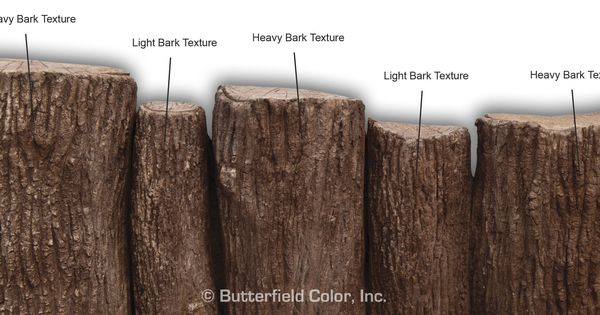 Texturizing Concrete Bark Texture Roller Samples