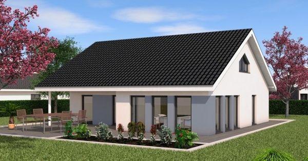 Chalet 115 modernes bungalow von bau braune inh sven for Chalet modern bauen